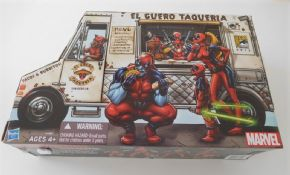 Deadpool Corps Taco Truck Action Figure Set SDCC 2013 Hasbro Marvel Universe